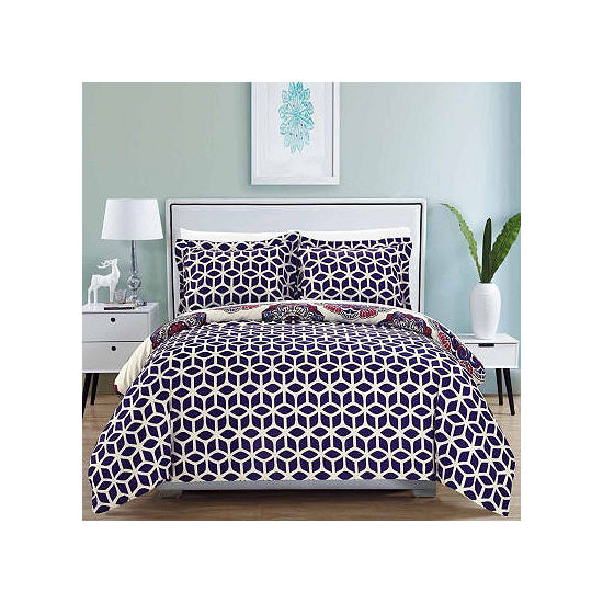 Chic Home Ibiza 3-pc. Reversible Duvet Cover Set