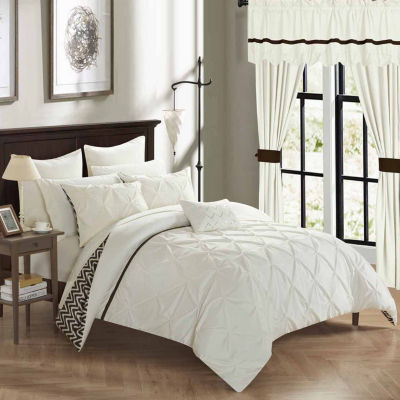 Chic Home Jacksonville 20-pc. Midweight Reversible Comforter Set
