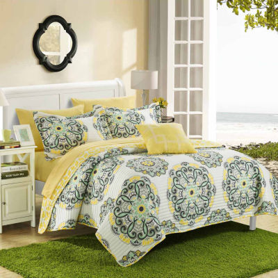 Chic Home Madrid 8-pc. Quilt Set