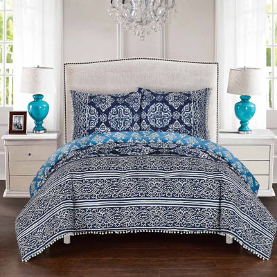 Chic Home Magical Medallion Midweight Reversible Comforter Set
