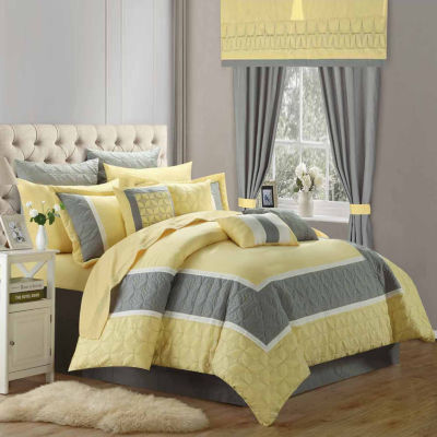 Chic Home Aida Midweight Comforter Set