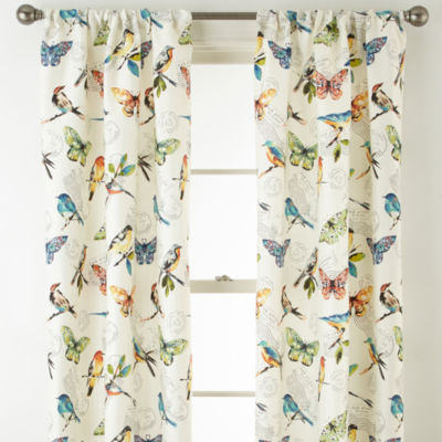 Home Expressions Avion 2-Pack Rod-Pocket Curtain Panel