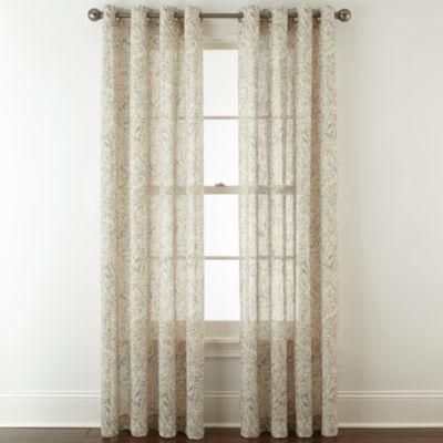 Royal Velvet Estate Grommet-Top Curtain Panel