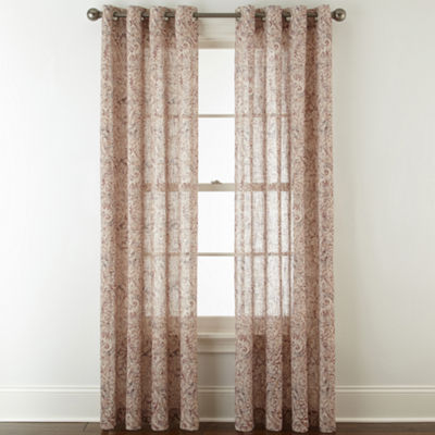 Royal Velvet Estate Grommet-Top Curtain Panel