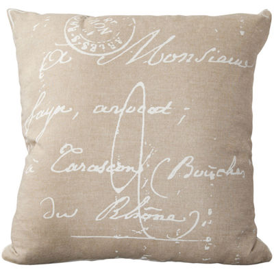 Decor 140 Assignat Square Throw Pillow