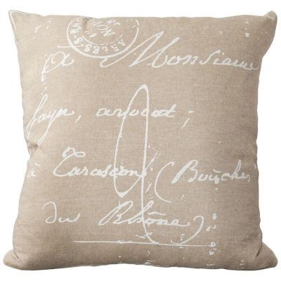 Decor 140 Assignat Square Throw Pillow