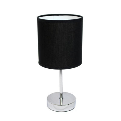 Simple Designs Metal Table Lamp