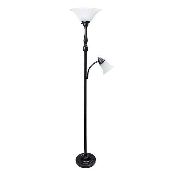 Elegant Designs Metal Floor Lamp