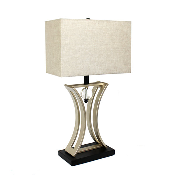 Elegant designs metal table lamp jcpenney elegant designs metal table lamp mozeypictures Image collections