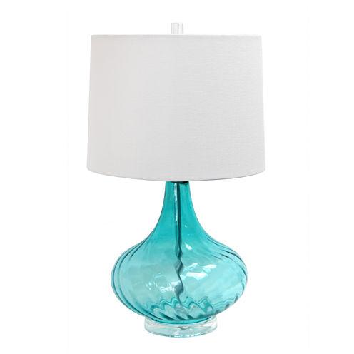 Elegant Designs Glass Table Lamp