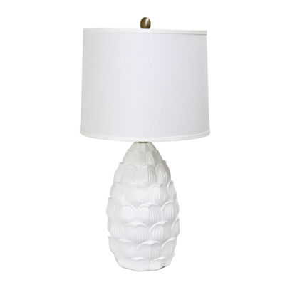 Elegant Designs Resin Table Lamp