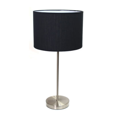 Simple Designs Metal Table Lamp