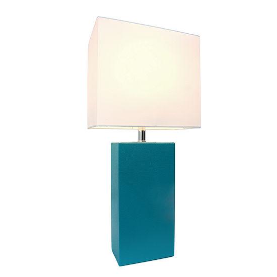 Elegant Designs Manufactured Wood Table Lamp