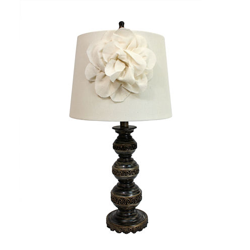 Elegant Designs Manufactured Wood Table Lamp