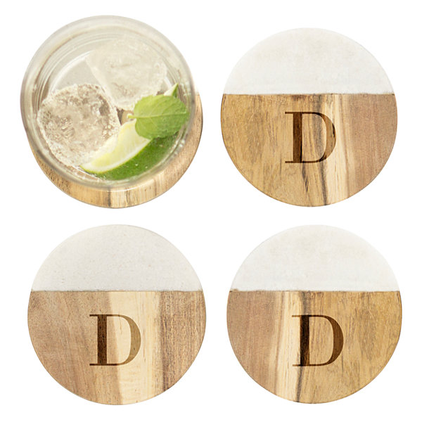 Cathy's Concepts 4-pc. Personalized Coaster Set
