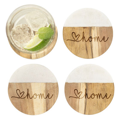 Cathy's Concepts 4-pc. Coaster Set