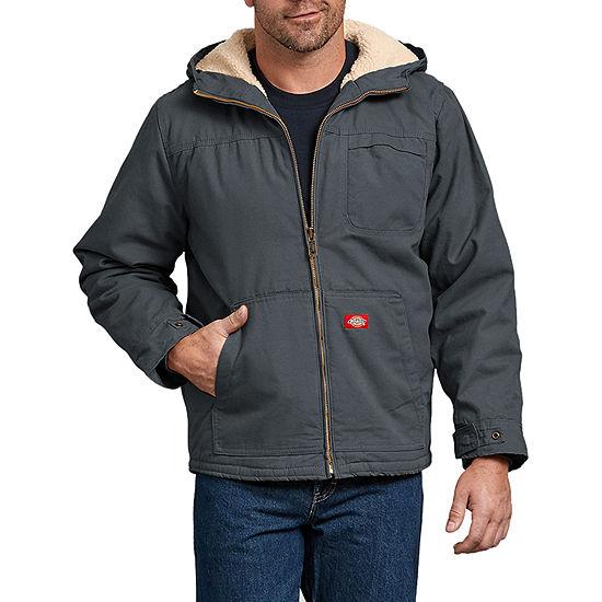 Duck Sherpa Lined Hooded Jacket