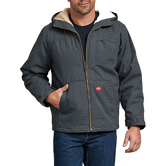 Duck Sherpa Lined Hooded Jacket - Big & Tall