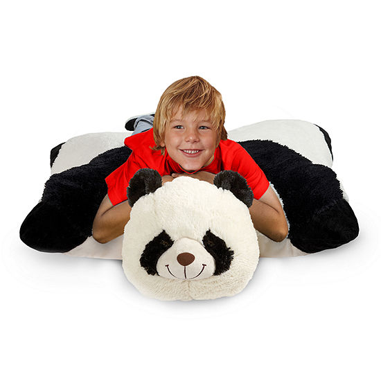 Pillow Pets Jumboz Comfy Panda Over-Sized Plush Floor Pillow Pet