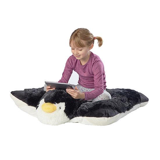 Pillow Pets Jumboz Playful Penguin Oversized Plush Floor Pillow Pillow Pet
