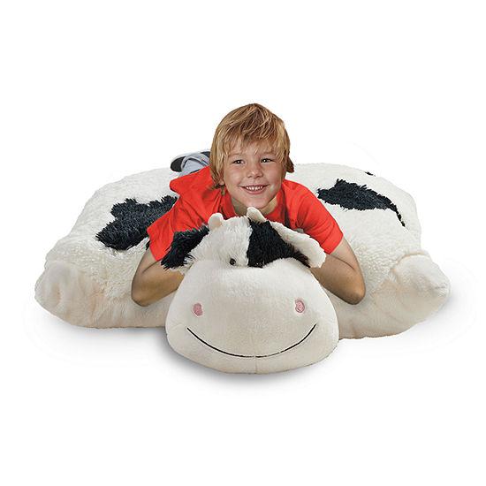 Pillow Pets Signature Jumboz Cozy Cow Oversized Stuffed Animal Plush Toy Pillow Pet