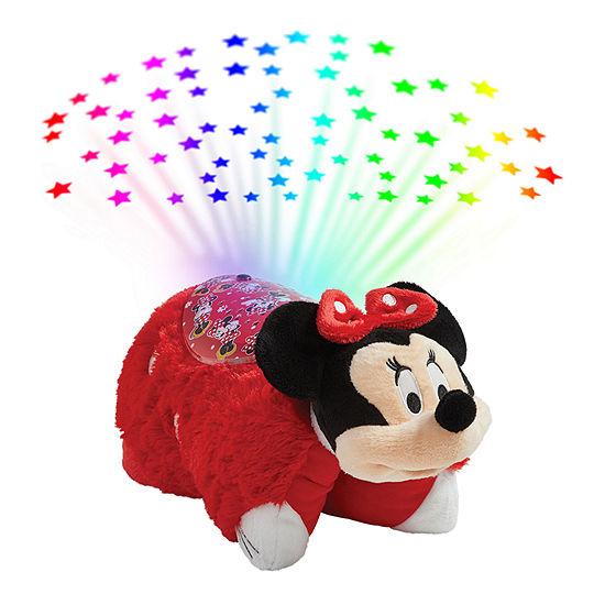 Pillow Pets Disney Rockin The Dots Minnie Mouse Sleeptime Lites- Rockin The Dots Minnie Mouse Plush Night Light