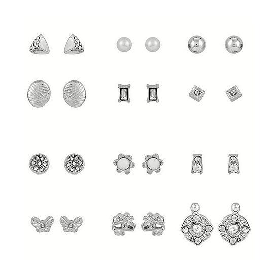 Arizona 12 Pair Earring Set