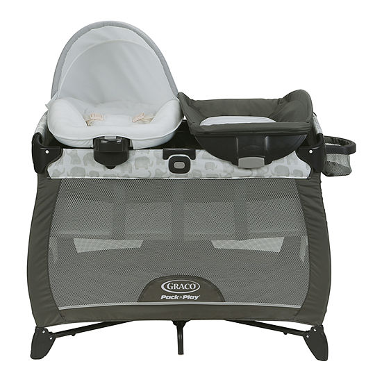 Graco Pack 'N Play Quick Connect Portable Napper Eli Play Yard