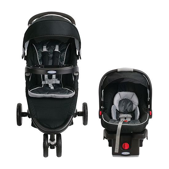 Graco Fast Action Fold Sport Click Connect Gotham Travel System