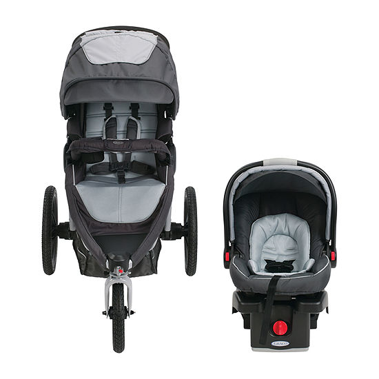 Graco Relay Click Connect Glacier Travel System