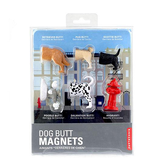 Kikkerland® Dog Butt Magnets