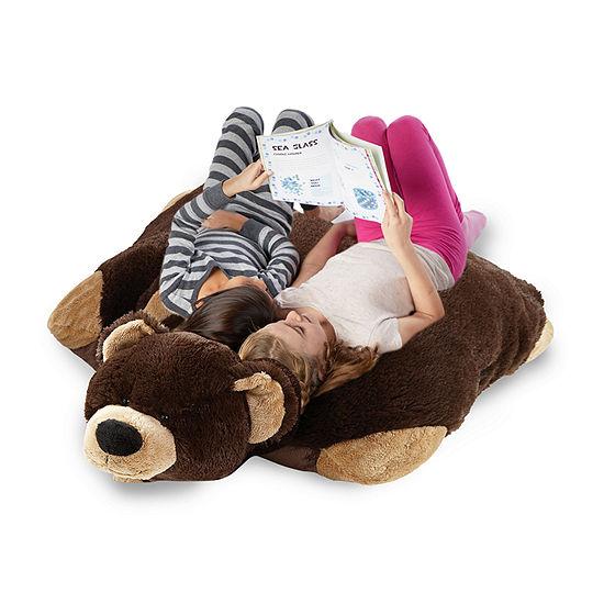 Pillow Pets Signature Jumboz Mr. Bear Oversized Stuffed Animal Plush Toy Pillow Pet Pillow Pet