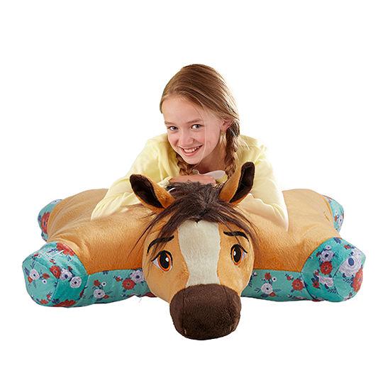 Pillow Pets Nbcuniversal Jumboz Spirit Oversized Stuffed Animal Plush Toy Pillow Pet Pillow Pet