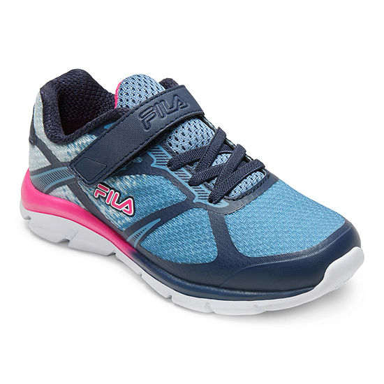 Fila Primeforce 3 Strap Big Kids Girls Running Shoes