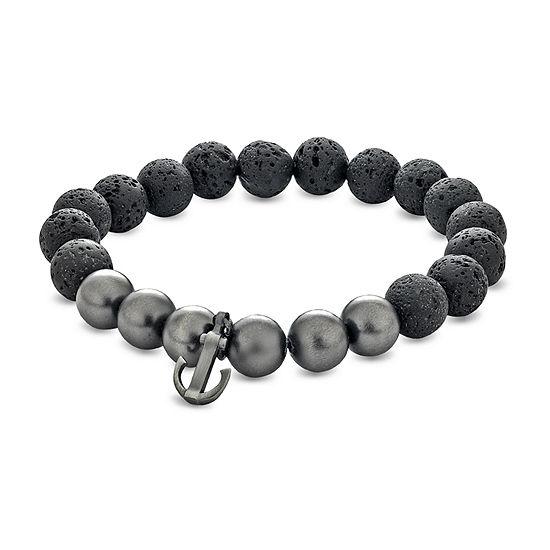 Black Hematite Beaded Bracelet