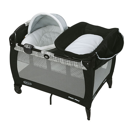 Graco Pack 'N Play Newborn Napper With Soothe Surround Technology, Teigen Play Yard