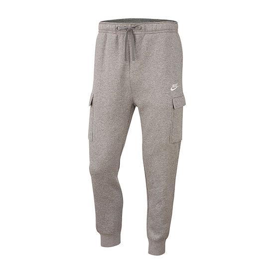 Nike Mens Regular Fit Cargo Fleece Jogger Pant