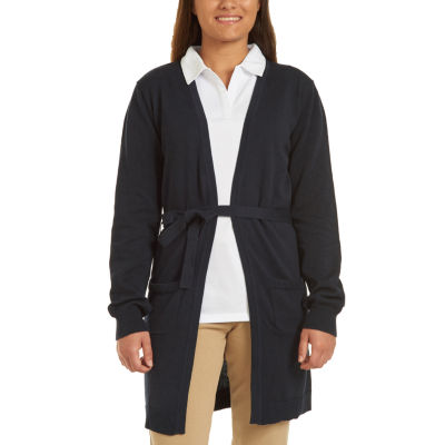 Izod Womens Long Sleeve Cardigan Juniors by Izod