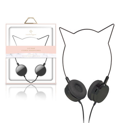 Nanette Lepore Cat-Ear Stereo Headphones