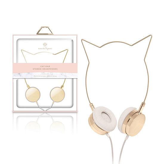 Nanette Lepore Cat-Ear Stereo Headphones