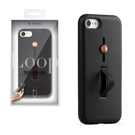 MVMT Protective Case with Built-in Finger Loop and Kickstand for iPhone 8 - also fits 7, 6S & 6