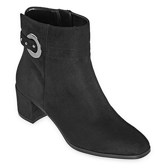 east 5th Womens Eastview Booties Block Heel