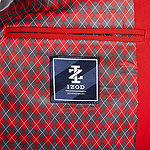IZOD Crimson Red Mens Classic Fit Sport Coat