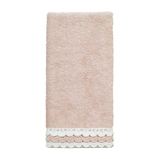 Avanti Medford Bordered Crochet Bath Towel