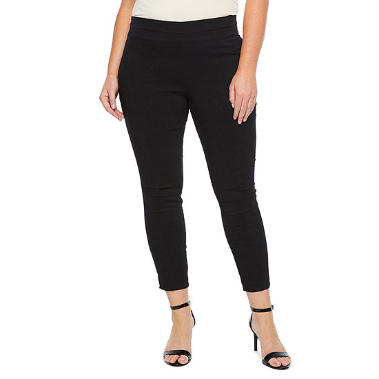 Alyx Womens Mid Rise Tapered Pull-On Pants
