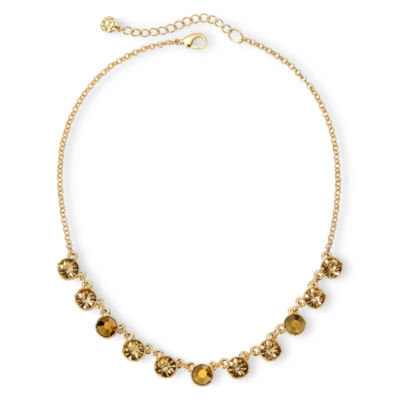 Monet® Gold-Tone Collar Necklace