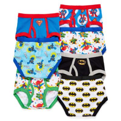 Superfriends 7-pk. Briefs - Toddler Boys 2t-4t