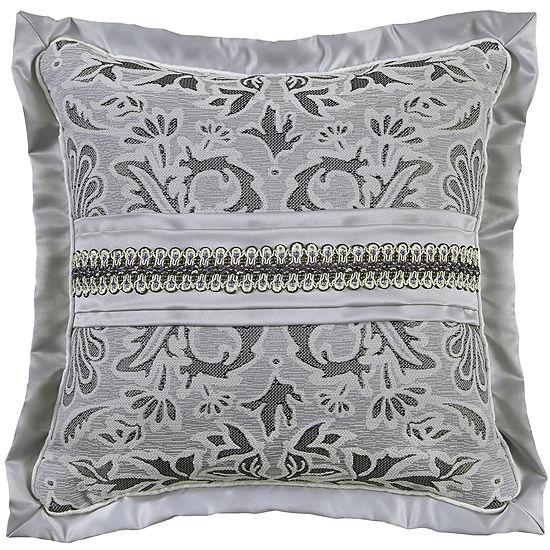 Croscill Classics Luxembourg 16 Square Jacquard Decorative Pillow