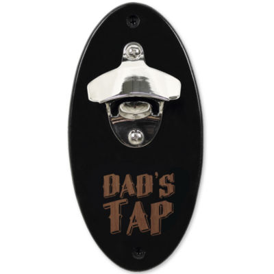 """Cathy's Concepts """"Dad's Tap"""" Wall-Mounted Bottle Opener"""