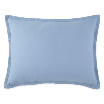 JCPenney Home™ Cotton Classics Solid Reversible Pillow Sham